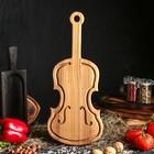 """Доска сервировочная """"Скрипка"""", 44 х 18 см"""