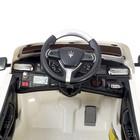 Электромобиль MASERATI LEVANTE, с радиоуправлением, свет и звук, цвет белый - фото 105641979