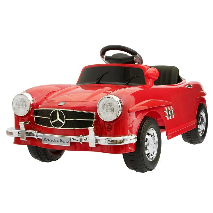 """Электромобиль """"MERCEDES-BENZ 300SL"""", с радиоуправлением, свет и звук, цвет красный"""