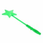 "Палочка световая ""Звёздочка"", цвет зелёный"