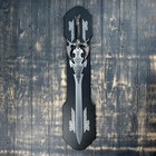 Сувенирный меч на планшете, резное лезвие, рукоять с головой дракона - фото 8875530