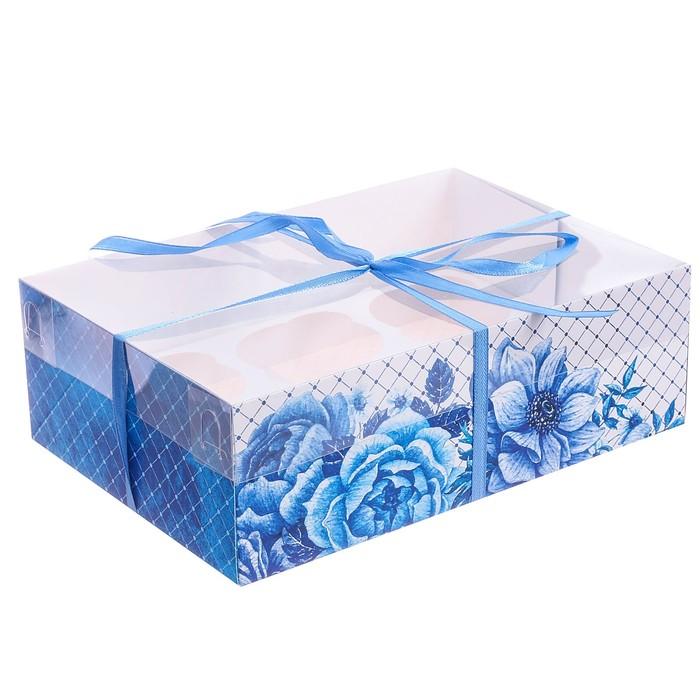 Коробка для капкейка «Для вдохновения» 16 × 23 × 7,5 см