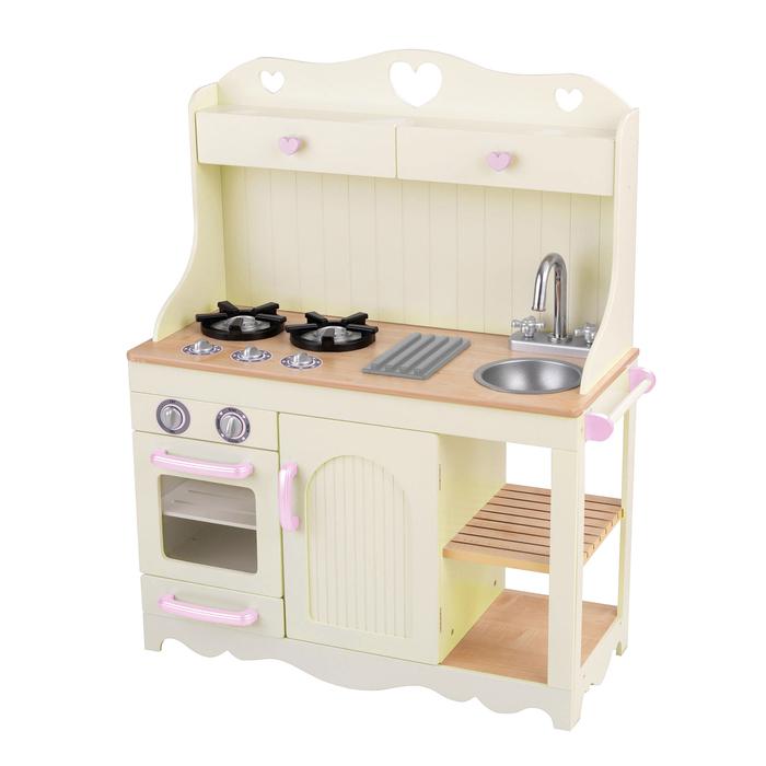 Детская игрушечная кухня из дерева «Прерия»