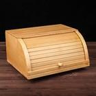 Хлебница деревянная, бук-люкс