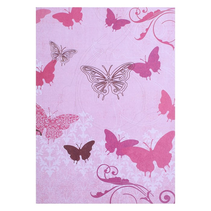 """Бумага для скрапбукинга А4 """"Бабочки"""" набор 10 листов"""