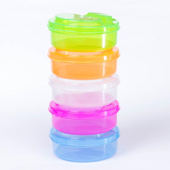 Набор контейнеров для хранения детского питания, 5 шт.