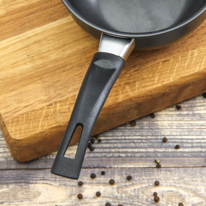 """Сковорода 14 см """"Гретта"""", антипригарное покрытие, бакелитовая ручка"""
