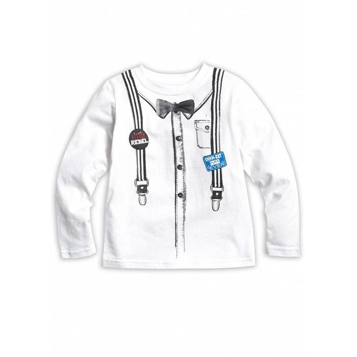 Джемпер для мальчика, рост 110 см, цвет белый