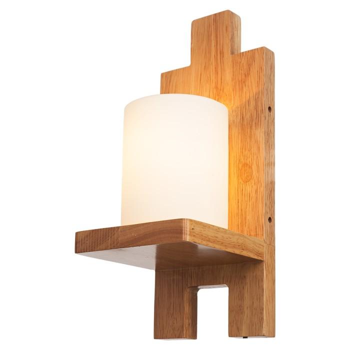 "Бра ""Алес""  лампа 40W E27 коричневый 13х14х33 см"