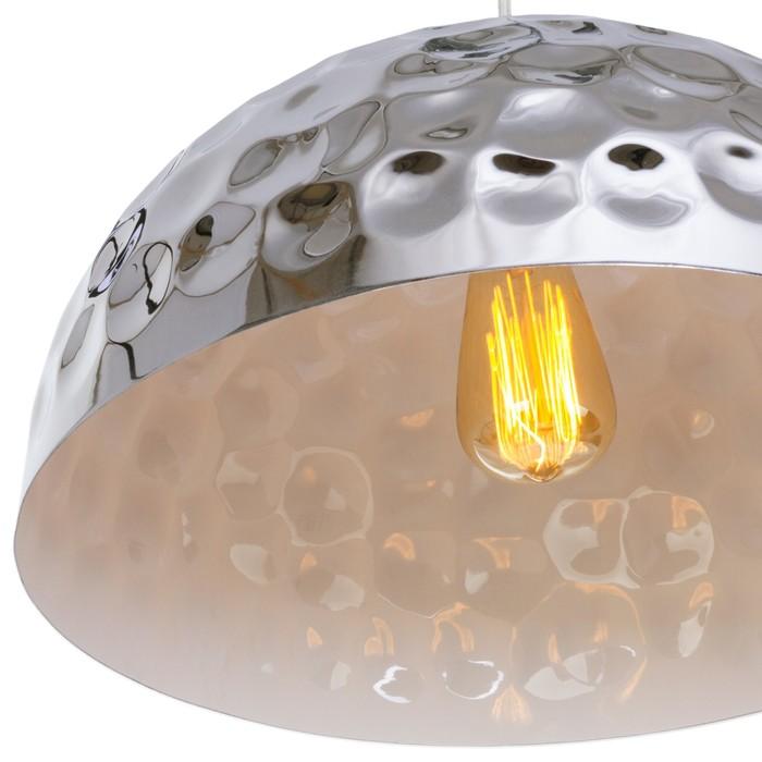 """Люстра подвесная  """"Фабьен"""" 1 лампа E27 60W хром 40х40х100 см"""