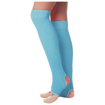 Гетры для танцев №5, без носка и пятки, L=70 см, цвет бирюзовый