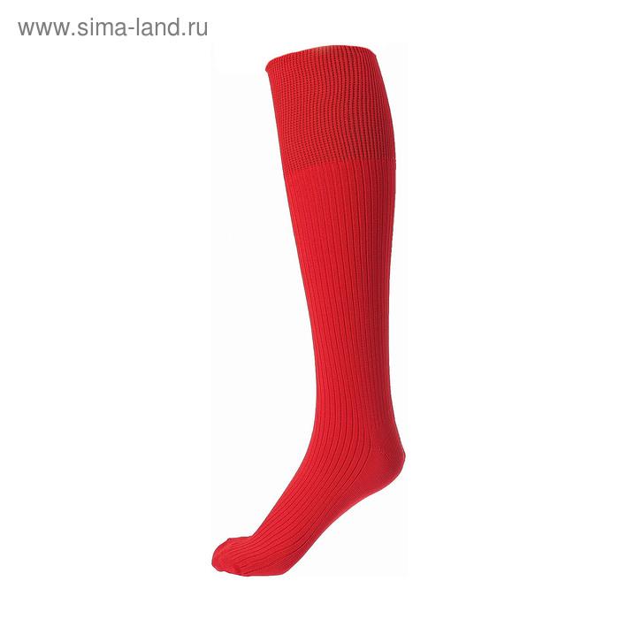 Гетры спортивные Спорт 1 цвет красный,  р. 35-37