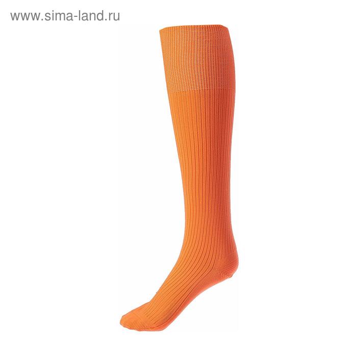 Гетры спортивные Спорт 1 цвет оранжевый,  р. 32-34