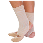 Gymnastic ankle, size S, color beige