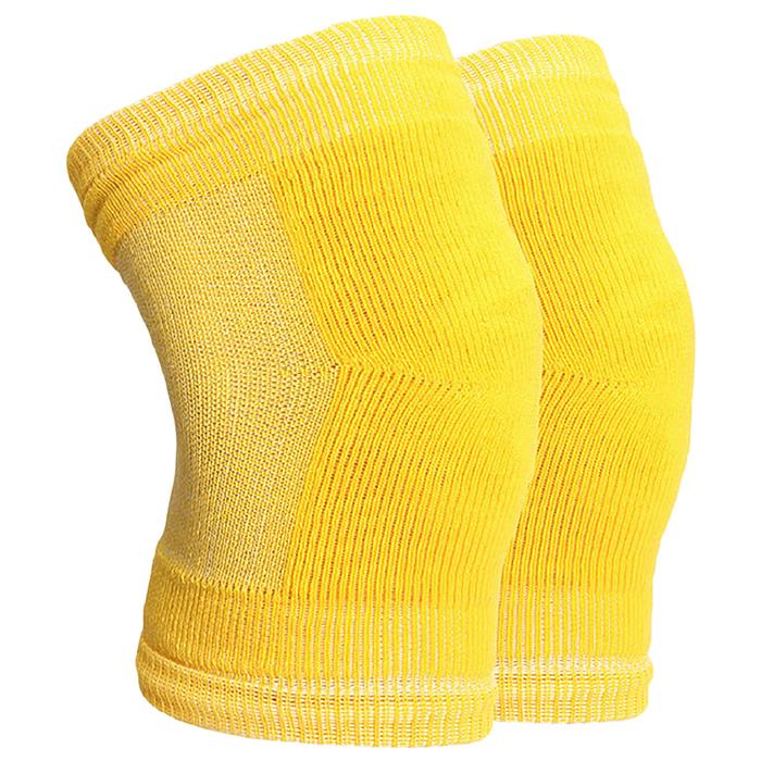 Наколенники №2, размер L, цвет жёлтый