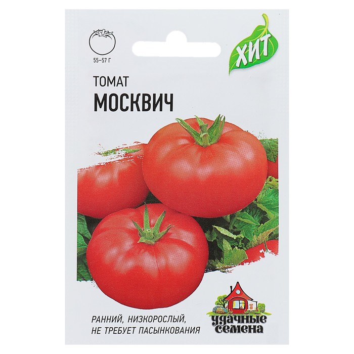 "Семена Уд.Сем. Томат ""Москвич"", раннеспелый, 0,1 г"