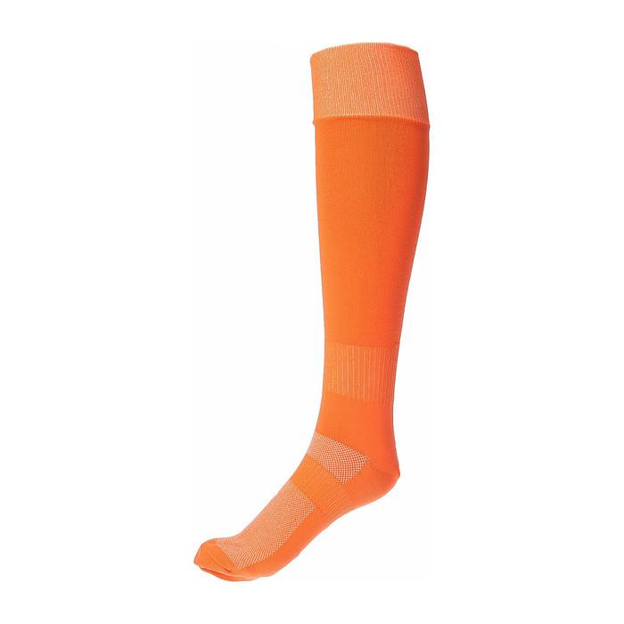 Гетры спортивные Спорт 3 цвет оранжевый,  р. 41-43