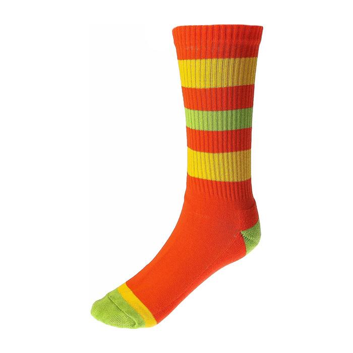 Носки спортивные Спорт 4 цвет оранжевый,  р. 41-43