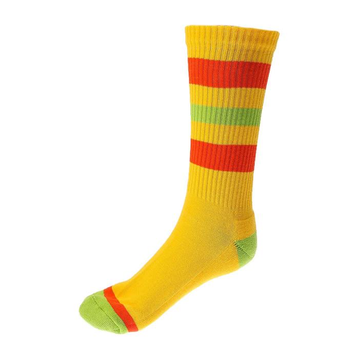 Носки спортивные Спорт 4 цвет желтый,  р. 41-43