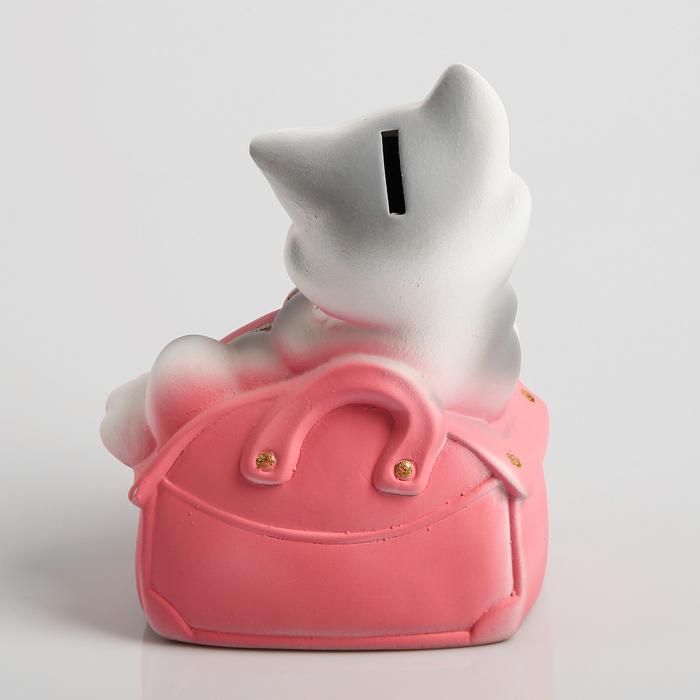 "Копилка ""Кошка Мими в сумочке"" 20см"