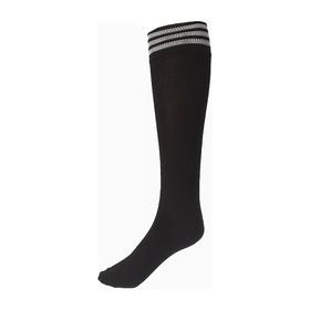 Гетры спортивные «Спорт 6», размер 32-34, цвет чёрный