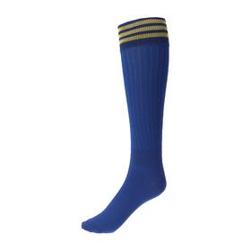 Гетры спортивные «Спорт 6», размер 32-34, цвет синий