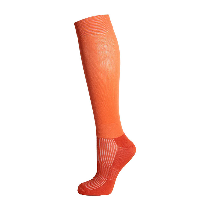 Гетры спортивные Спорт 7 цвет оранжевый,  р. 32-34