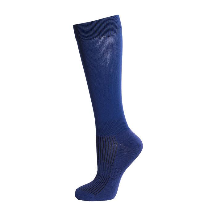 Гетры спортивные Спорт 7 цвет синий, р.35-37