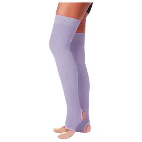 Гетры для танцев №5, без носка и пятки, L=60 см, цвет сиреневый Ош