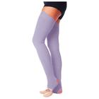 Гетры для танцев №5, без носка и пятки, L=70 см, цвет сиреневый