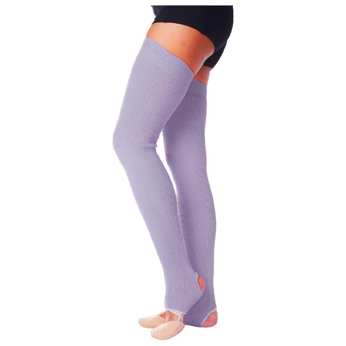 Гетры для танцев №5, без носка и пятки, L= 70 см, цвет сиреневый