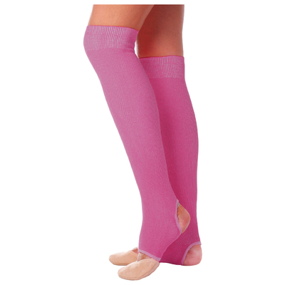 Гетры для танцев (без носка и пятки) №5 (50см), цвет фуксия