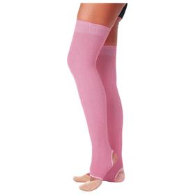 Гетры для танцев №5, без носка и пятки, L=60 см, цвет розовый Ош