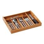 Подставка для столовых приборов с ручками., 38х32х4 см, дерево, 5818-7