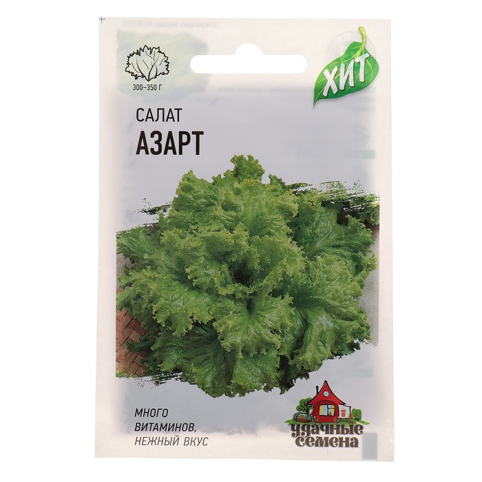 "Семена Уд.Сем. Салат ""Азарт"" листовой, 0,5 г"