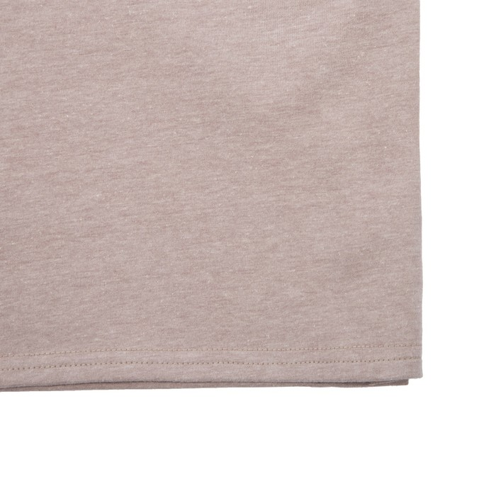 Туника женская WF25217 цвет бежевый меланж, рост 158-164, р-р 50