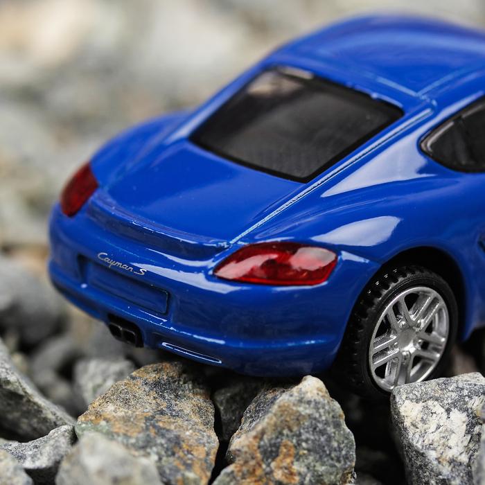 Машина металлическая Porsche Cayman S 2007, масштаб 1:43, МИКС