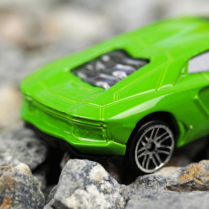 Машина металлическая Lamborghini Aventador, масштаб 1:64, МИКС