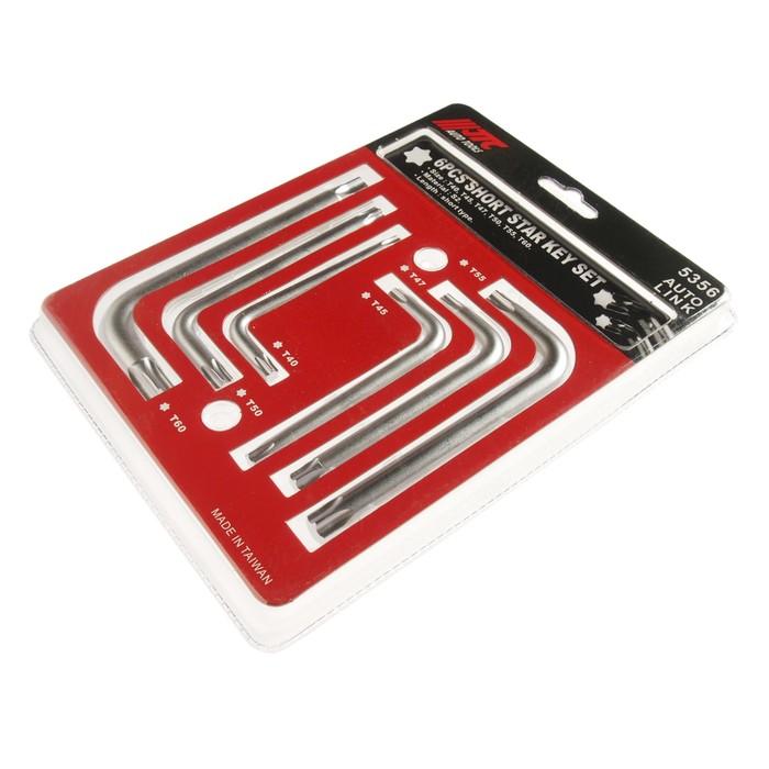 Набор ключей JTC-5356, TORX, сталь S2