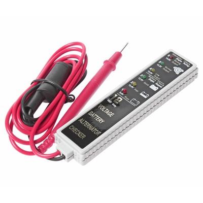 Тестер для АКБ и генератора JTC-J027, с индикатором, 5-14 В, погрешность 0.03 В