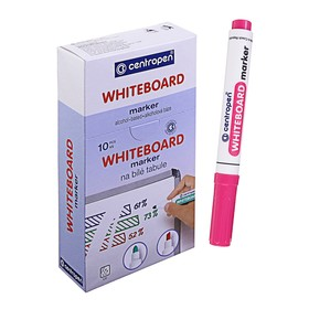 Маркер для доски Centropen 8559, 2.5 мм, розовый