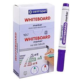 Маркер для доски Centropen 8559, 2.5 мм, фиолетовый