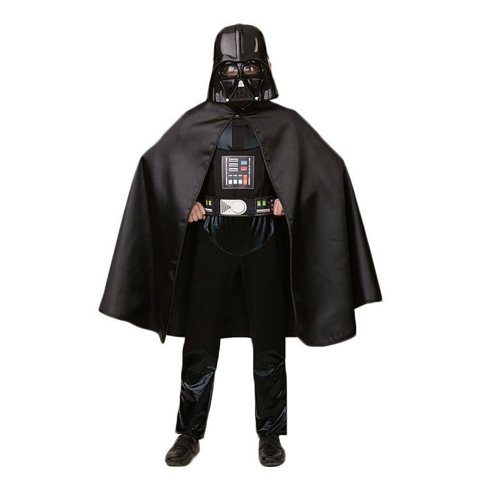 """Карнавальный костюм """"Дарт Вейдер"""", текстиль, р-р 28, рост 110 см"""