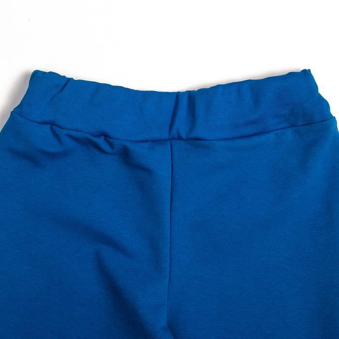 Штанишки детские, рост 80 см, цвет синий Bwb-09-2_М