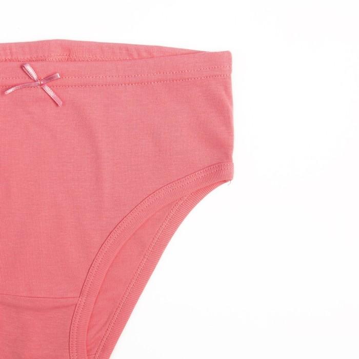 Трусы для девочки, рост 134 см, цвет арбузный