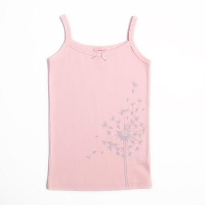 Майка для девочки, рост 92 см, цвет розовый