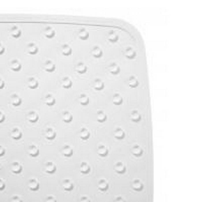 SPA-коврик противоскользящий 54х54 см Capri, цвет белый