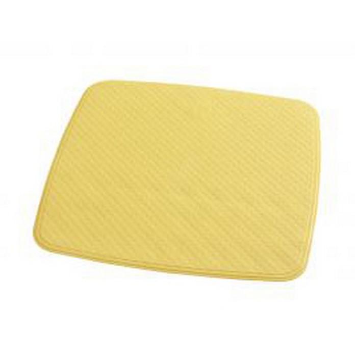 SPA-коврик противоскользящий 54х54 см Capri, цвет желтый