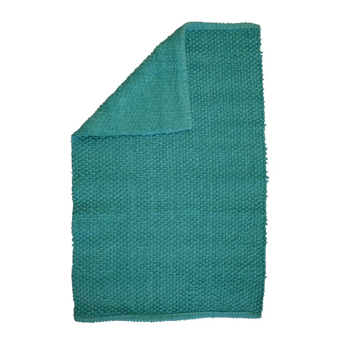 Коврик для ванной комнаты Fluffy, цвет зеленый 50х80 см