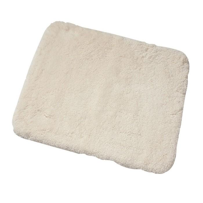 Коврик для ванной комнаты Istanbul, цвет белый 60х50 см